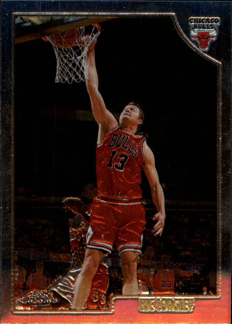 1998-99 Topps Chrome #18 Luc Longley