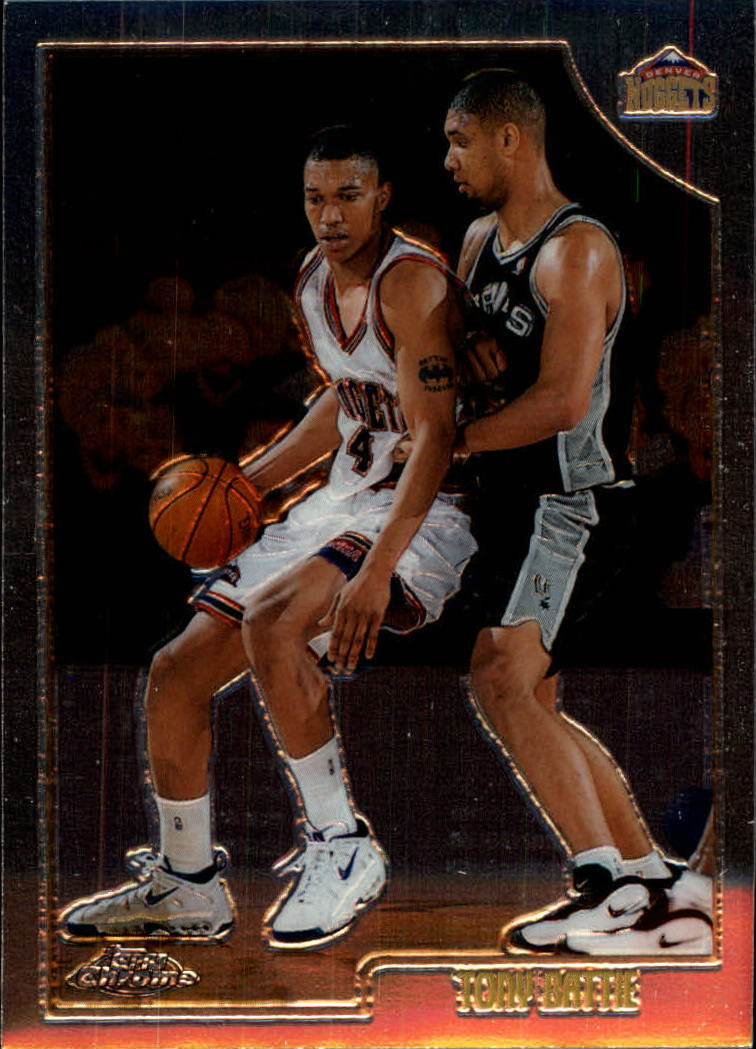 1998-99 Topps Chrome #22 Tony Battie
