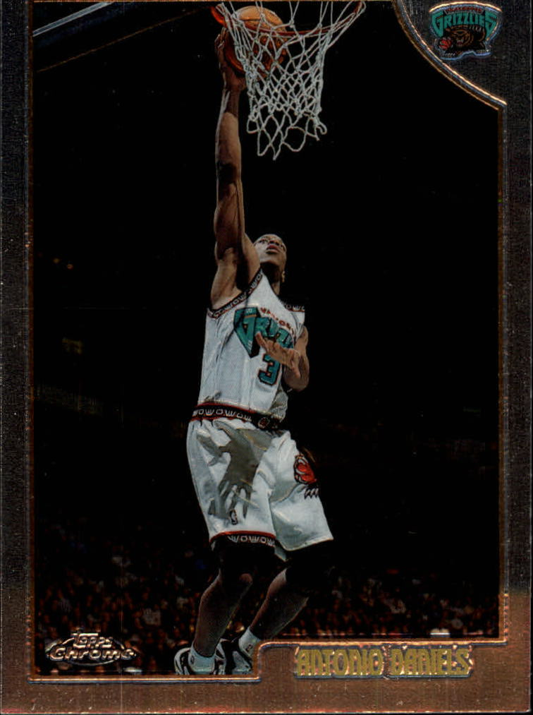 1998-99 Topps Chrome #33 Antonio Daniels