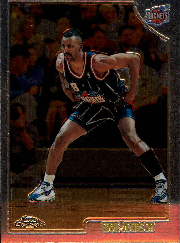 1998-99 Topps Chrome #36 Eddie Johnson