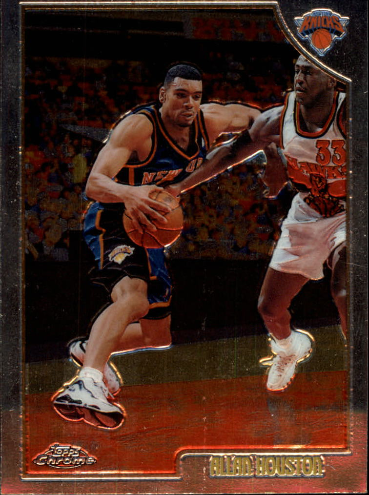 1998-99 Topps Chrome #46 Allan Houston