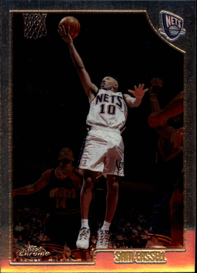 1998-99 Topps Chrome #53 Sam Cassell