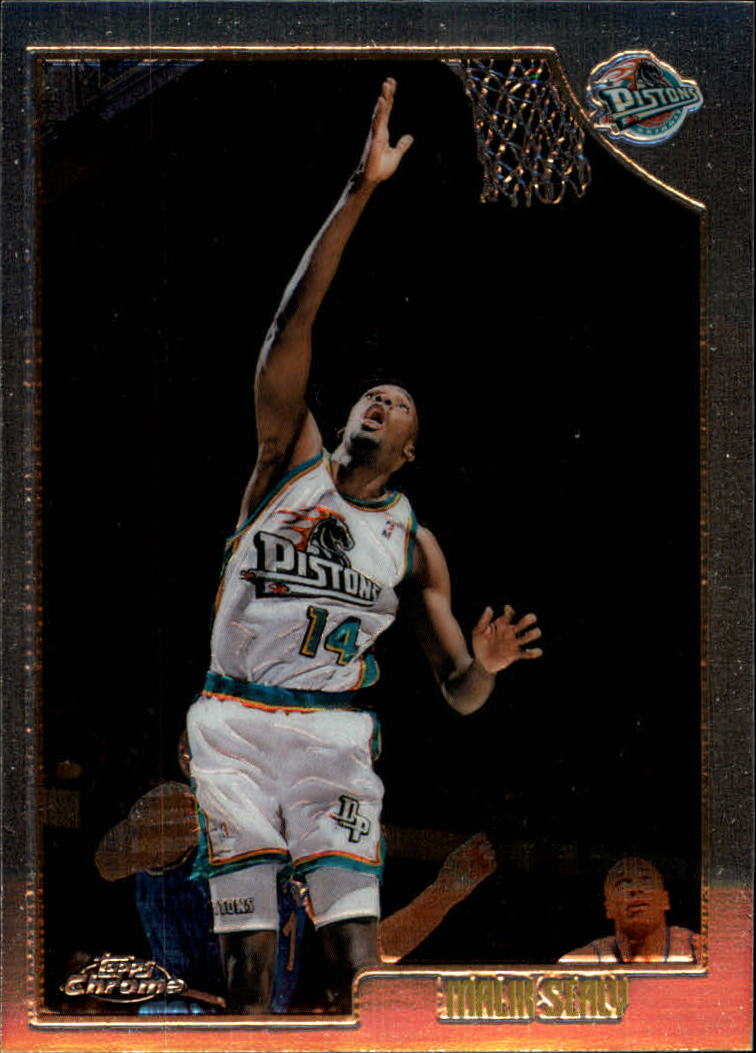 1998-99 Topps Chrome #56 Malik Sealy
