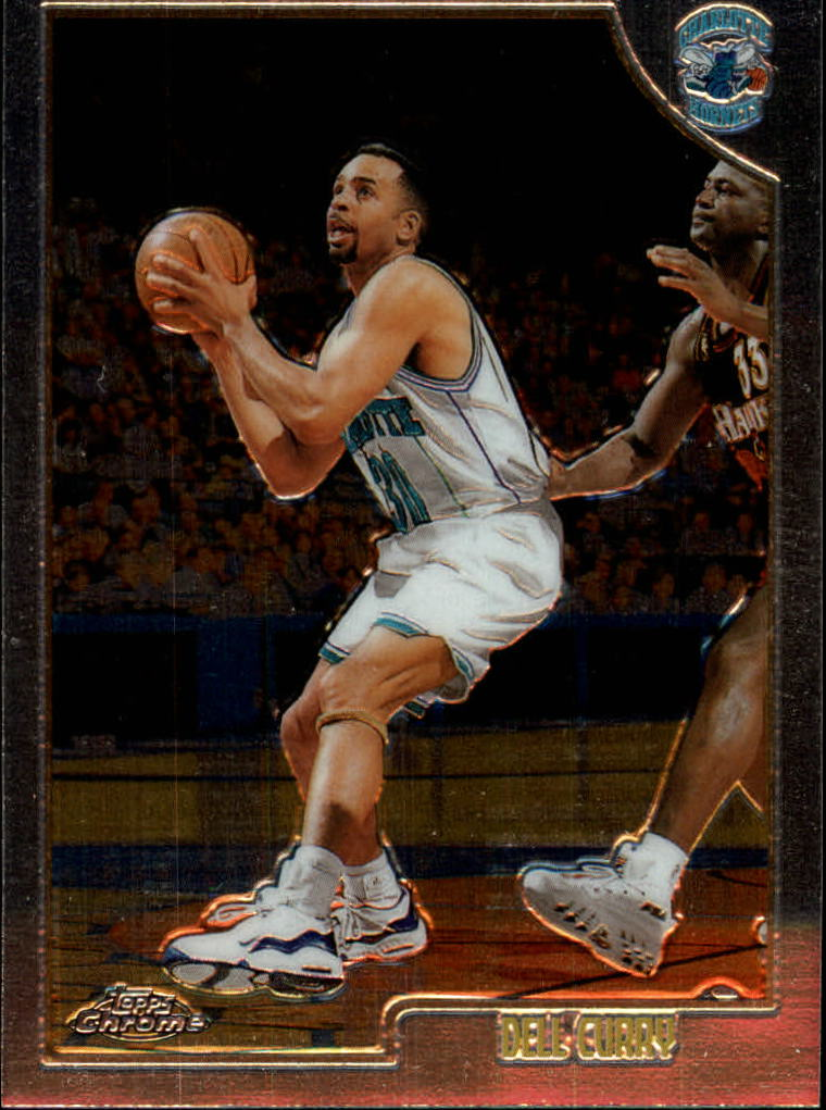 1998-99 Topps Chrome #57 Dell Curry