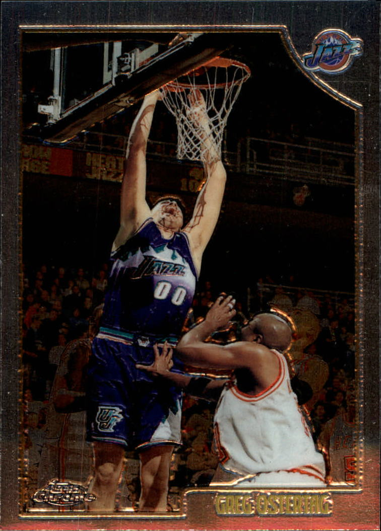 1998-99 Topps Chrome #64 Greg Ostertag