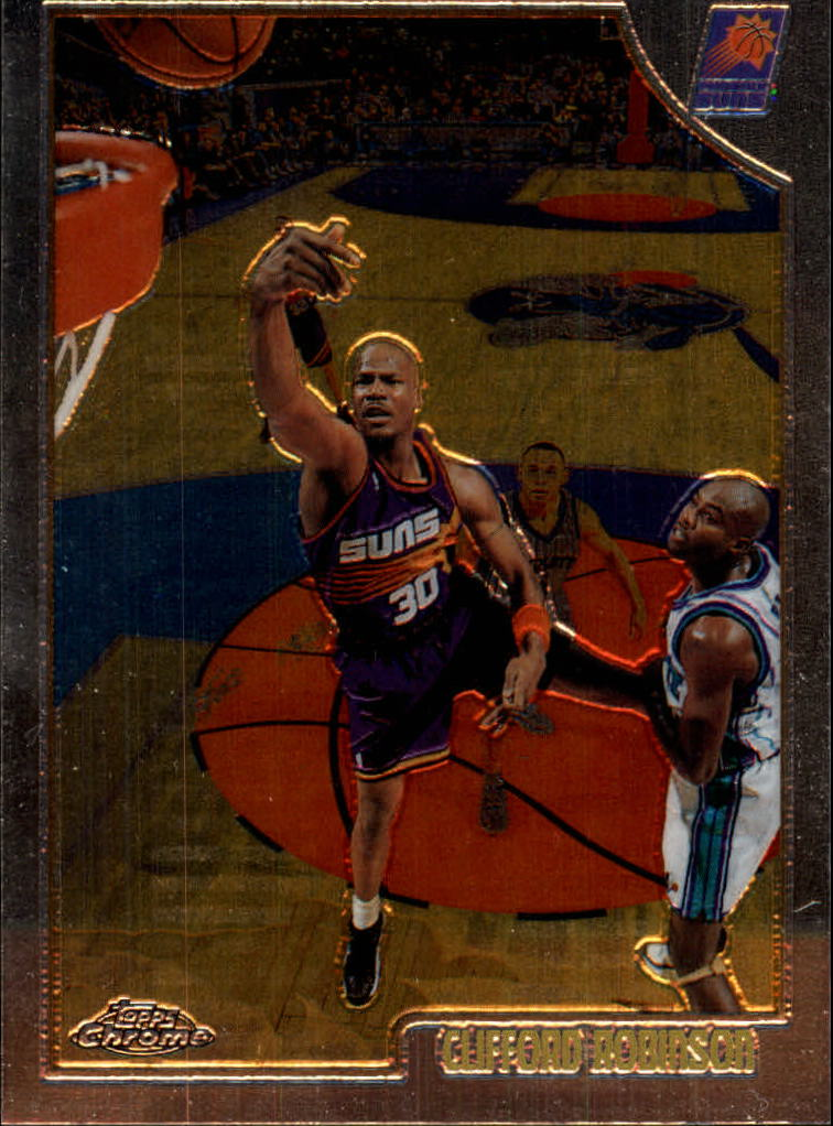 1998-99 Topps Chrome #83 Clifford Robinson