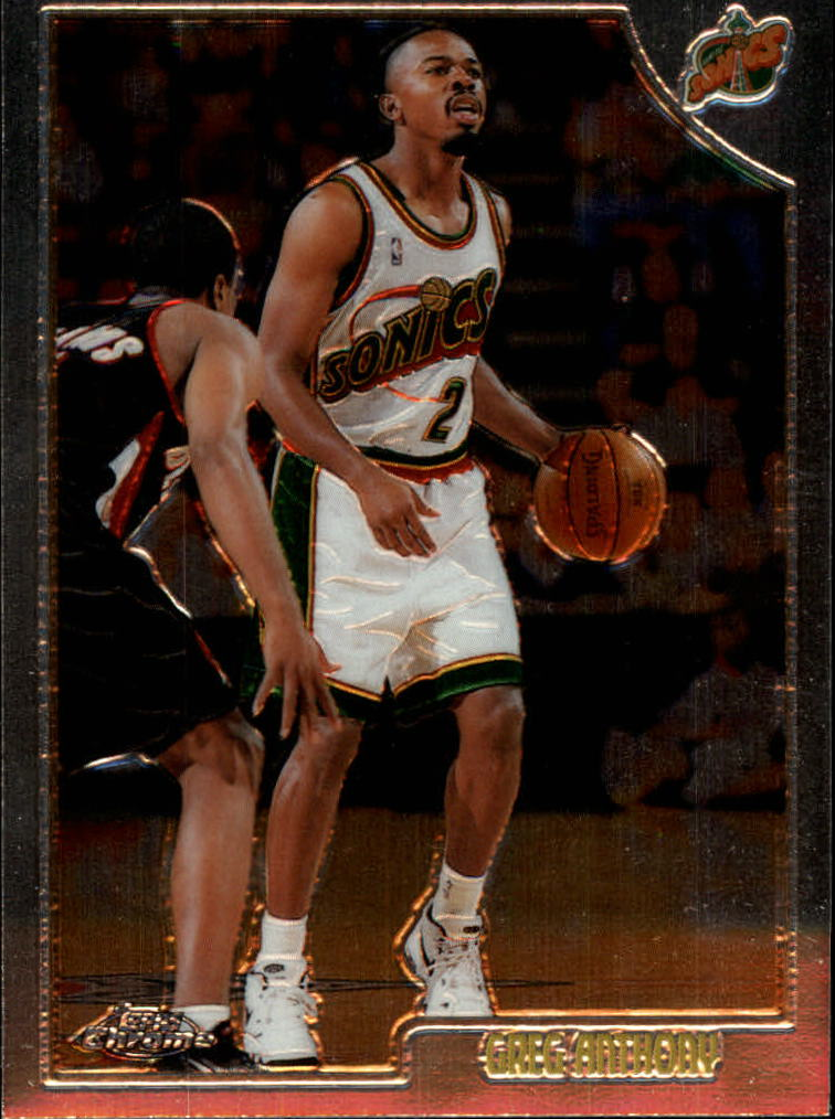 1998-99 Topps Chrome #84 Greg Anthony
