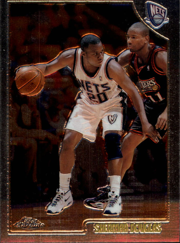 1998-99 Topps Chrome #88 Sherman Douglas