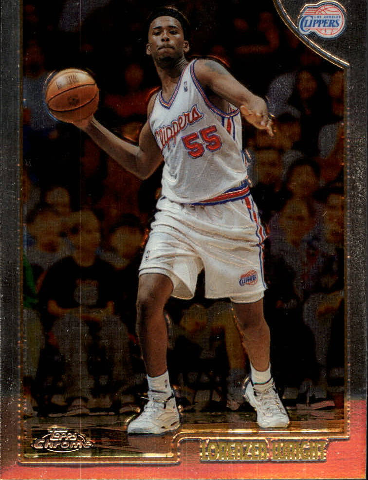 1998-99 Topps Chrome #91 Lorenzen Wright