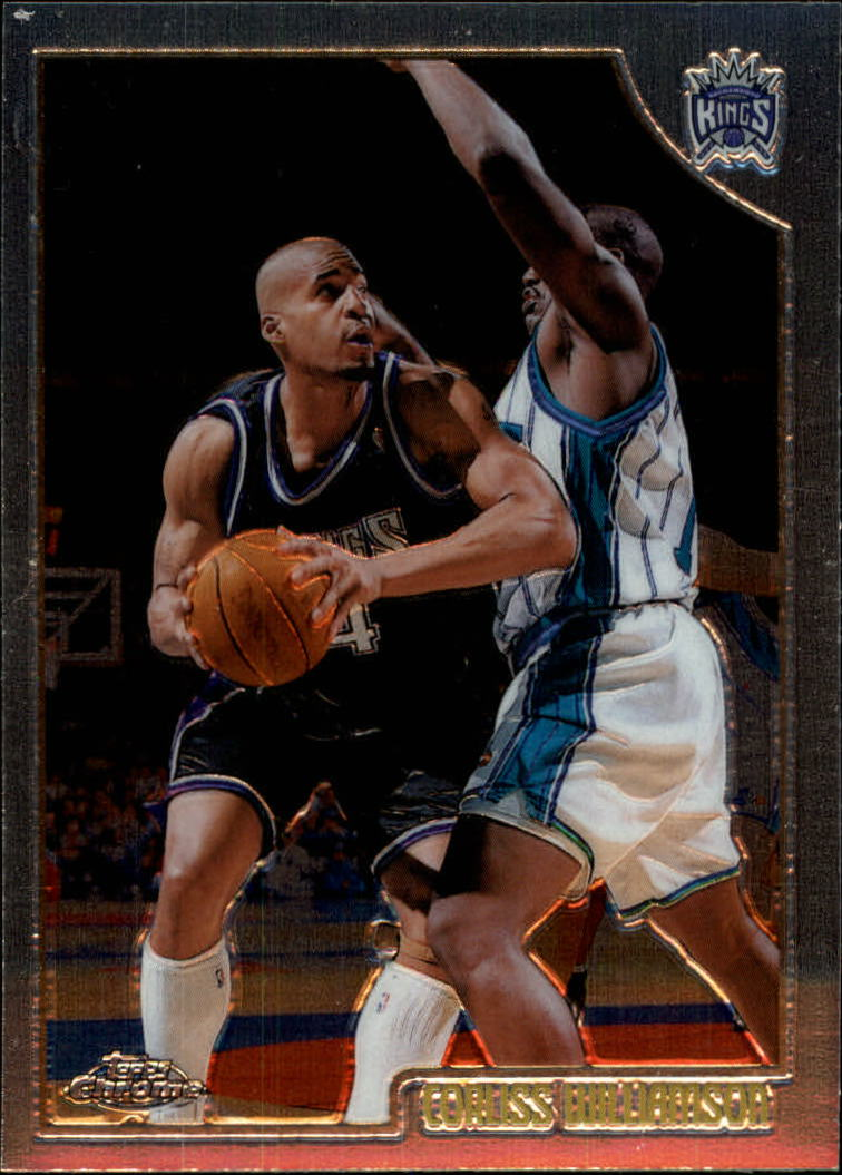 1998-99 Topps Chrome #106 Corliss Williamson