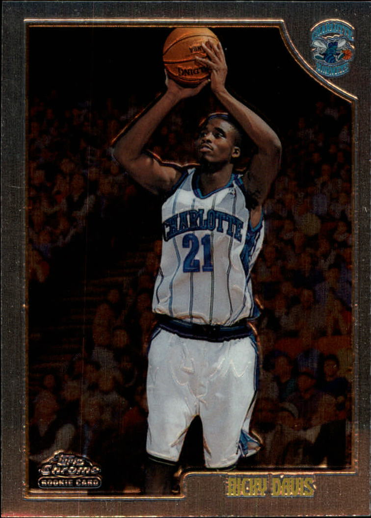 1998-99 Topps Chrome #118 Ricky Davis RC
