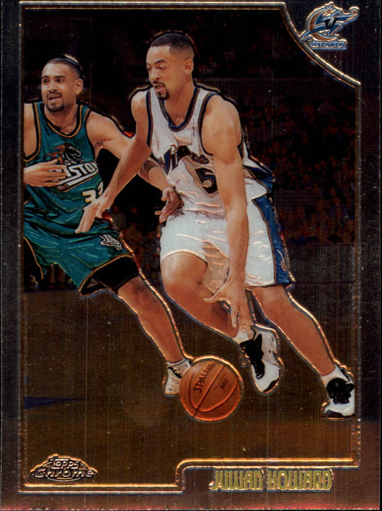 1998-99 Topps Chrome #155 Juwan Howard