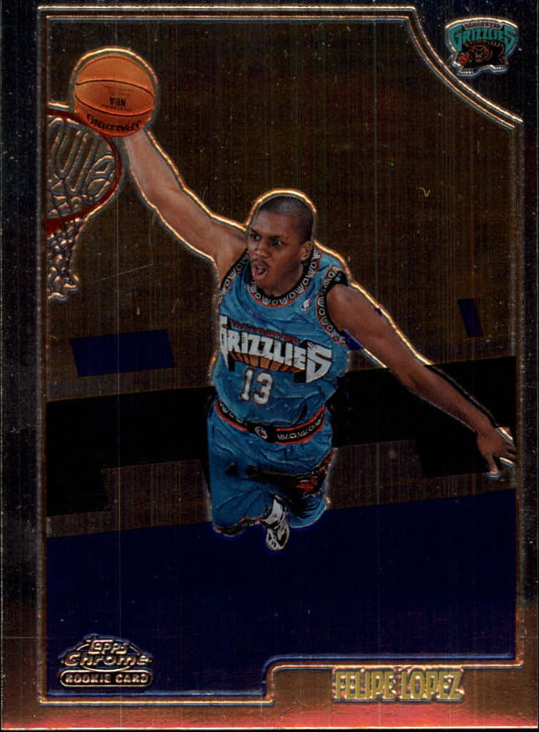 1998-99 Topps Chrome #161 Felipe Lopez RC