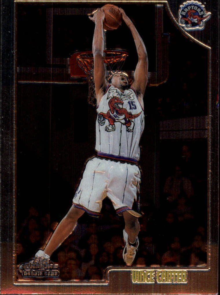 1998-99 Topps Chrome #199 Vince Carter RC