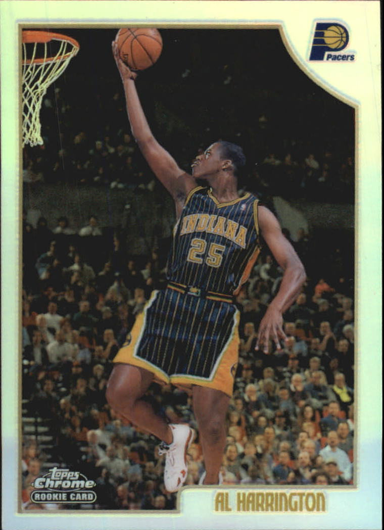 1998-99 Topps Chrome Refractors #133 Al Harrington