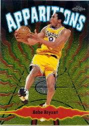 1998-99 Topps Chrome Apparitions #A1 Kobe Bryant