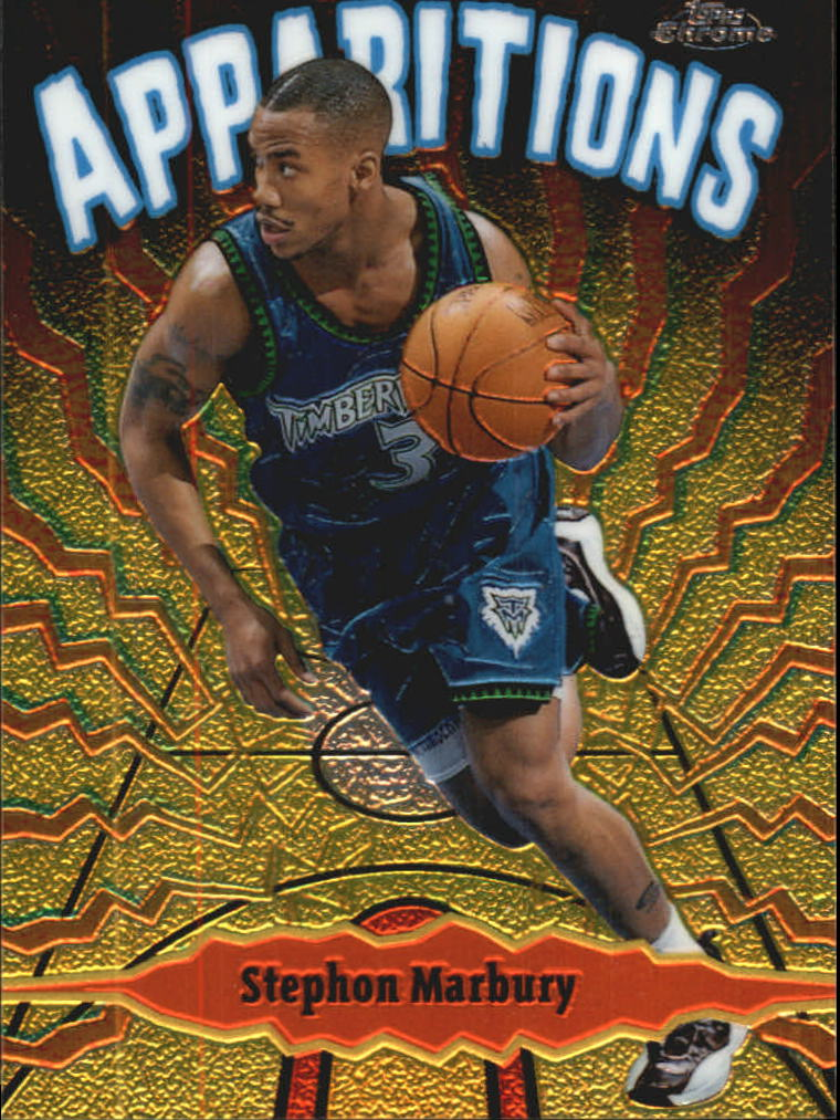 1998-99 Topps Chrome Apparitions #A2 Stephon Marbury
