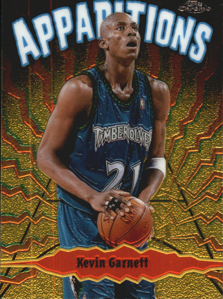 1998-99 Topps Chrome Apparitions #A12 Kevin Garnett