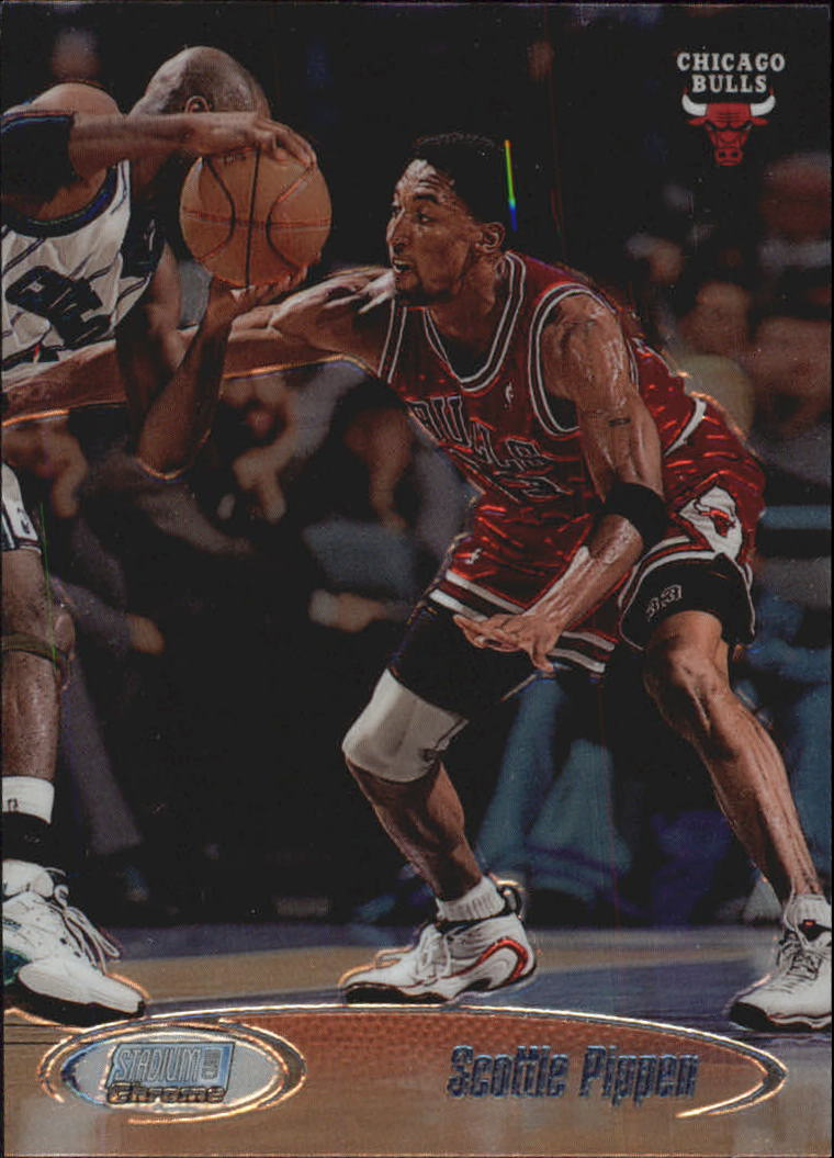 1998-99 Stadium Club Chrome #SCC2 Scottie Pippen