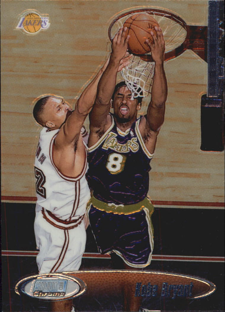 1998-99 Stadium Club Chrome #SCC6 Kobe Bryant