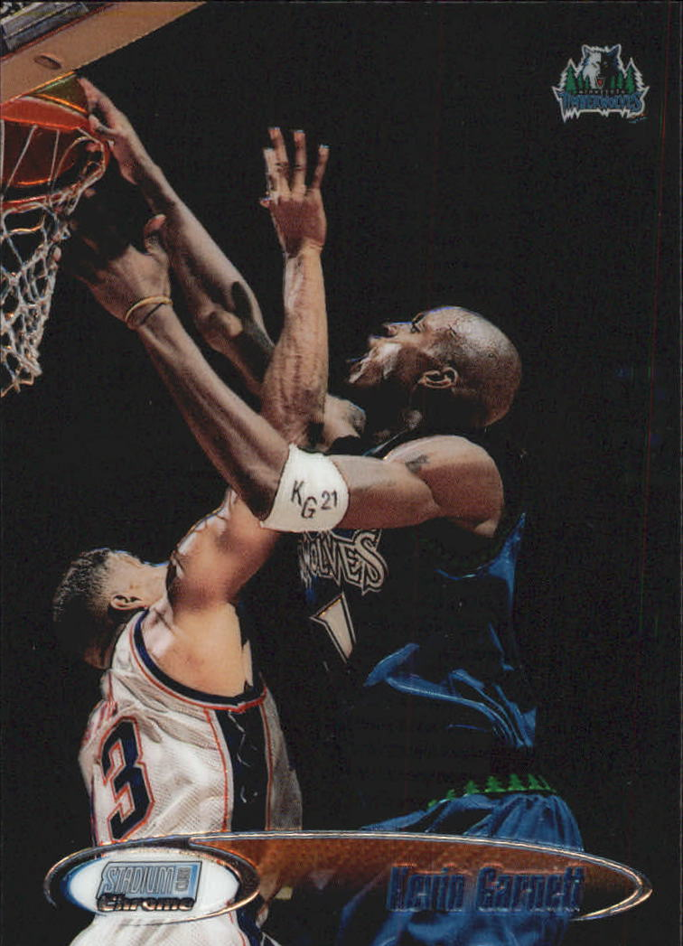 1998-99 Stadium Club Chrome #SCC26 Kevin Garnett