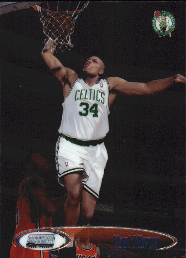 1998-99 Stadium Club Chrome #SCC34 Paul Pierce