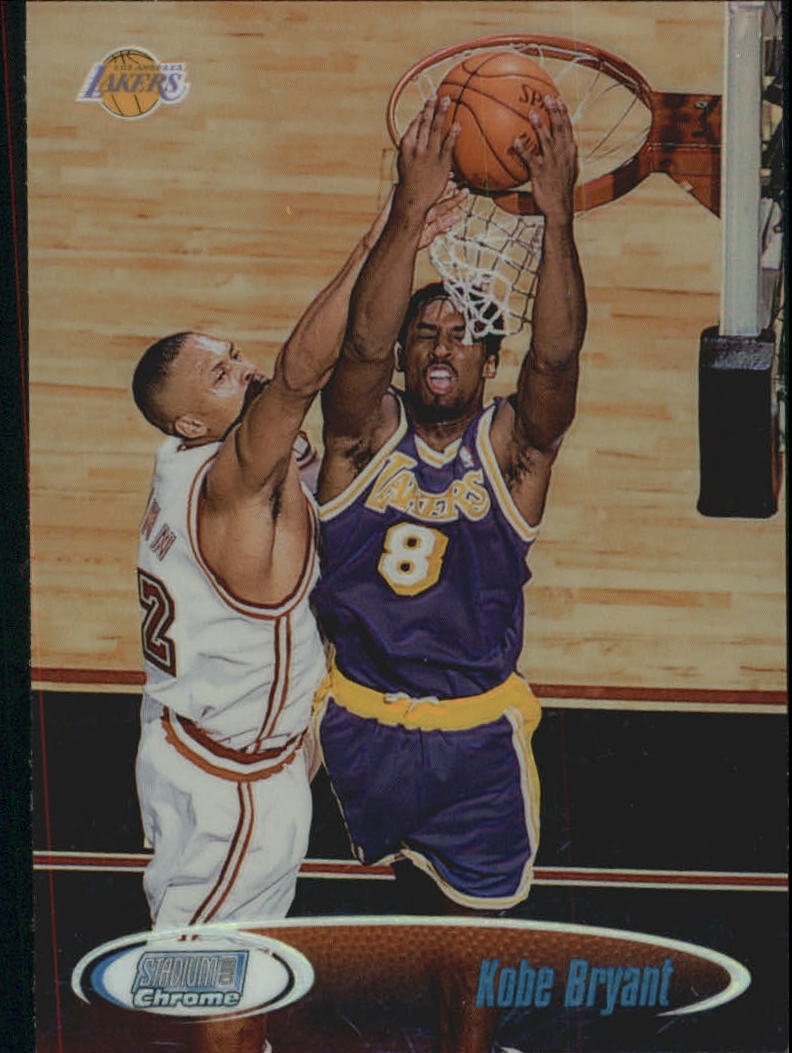 1998-99 Stadium Club Chrome Refractors #SCC6 Kobe Bryant