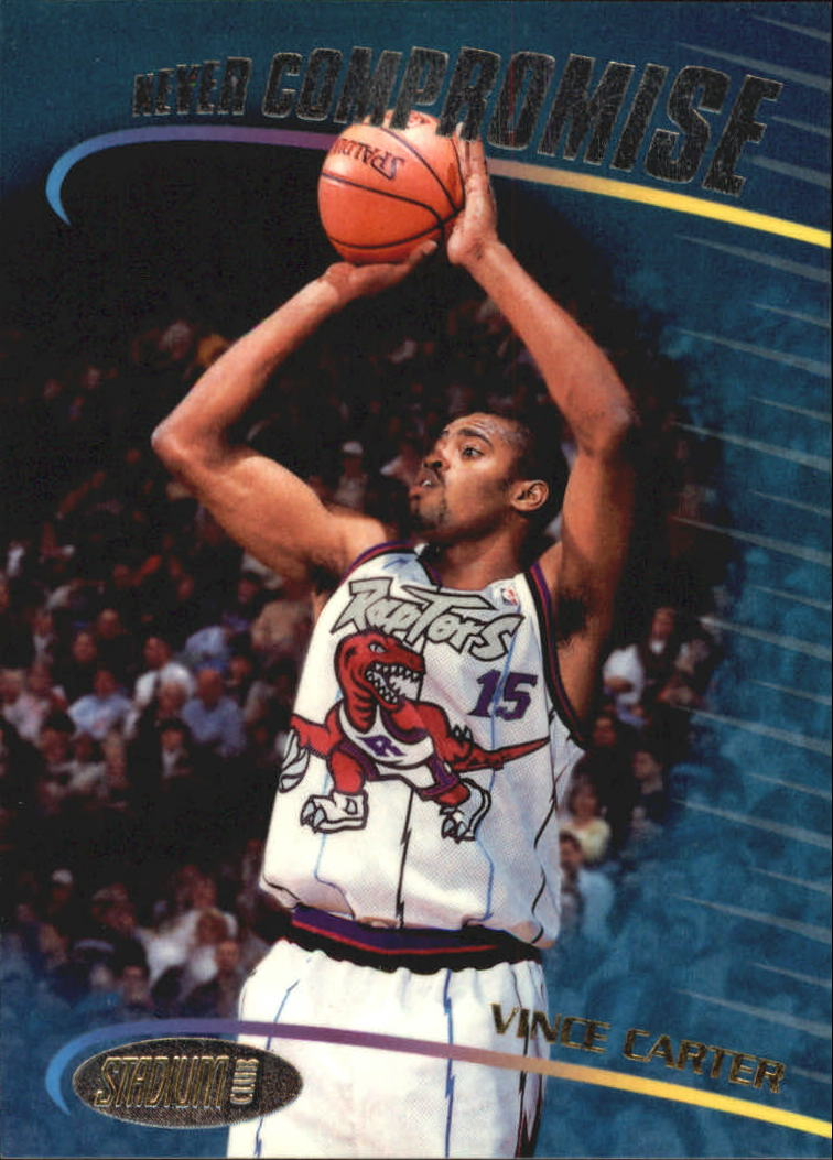 1998-99 Stadium Club Never Compromise #NC15 Vince Carter