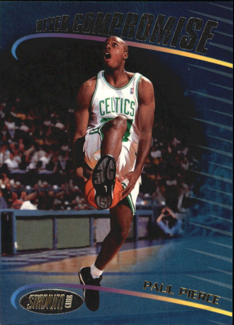 1998-99 Stadium Club Never Compromise #NC19 Paul Pierce