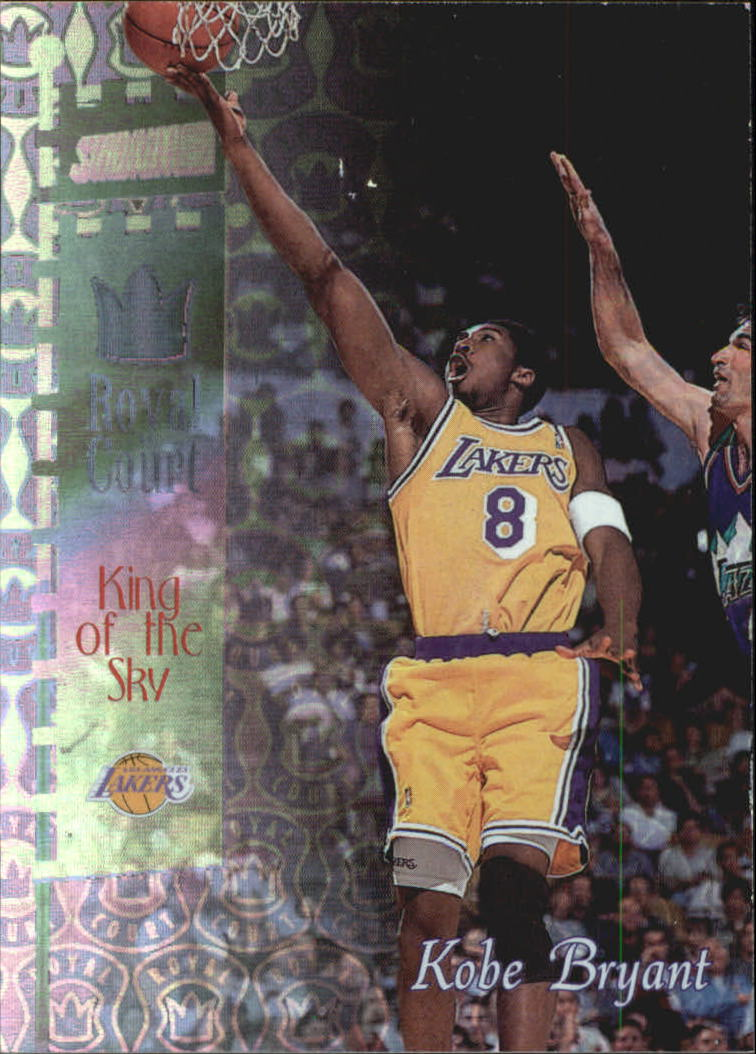 1998-99 Stadium Club Royal Court #RC2 Kobe Bryant