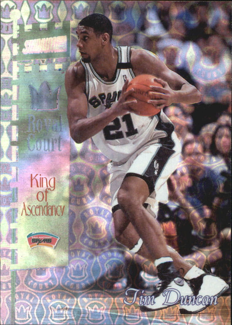 1998-99 Stadium Club Royal Court #RC3 Tim Duncan