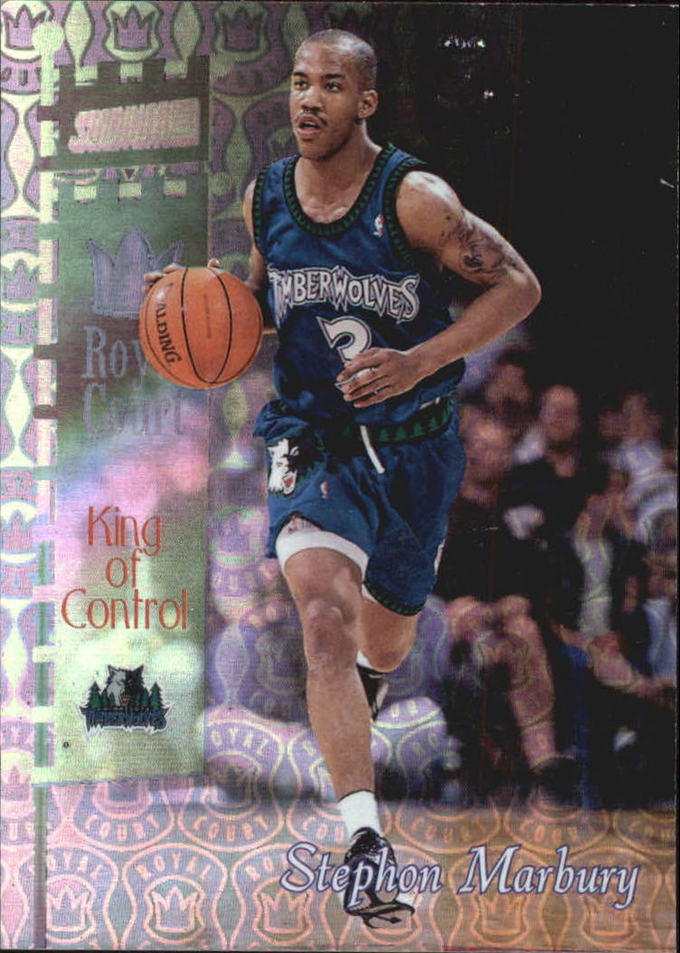 1998-99 Stadium Club Royal Court #RC7 Stephon Marbury