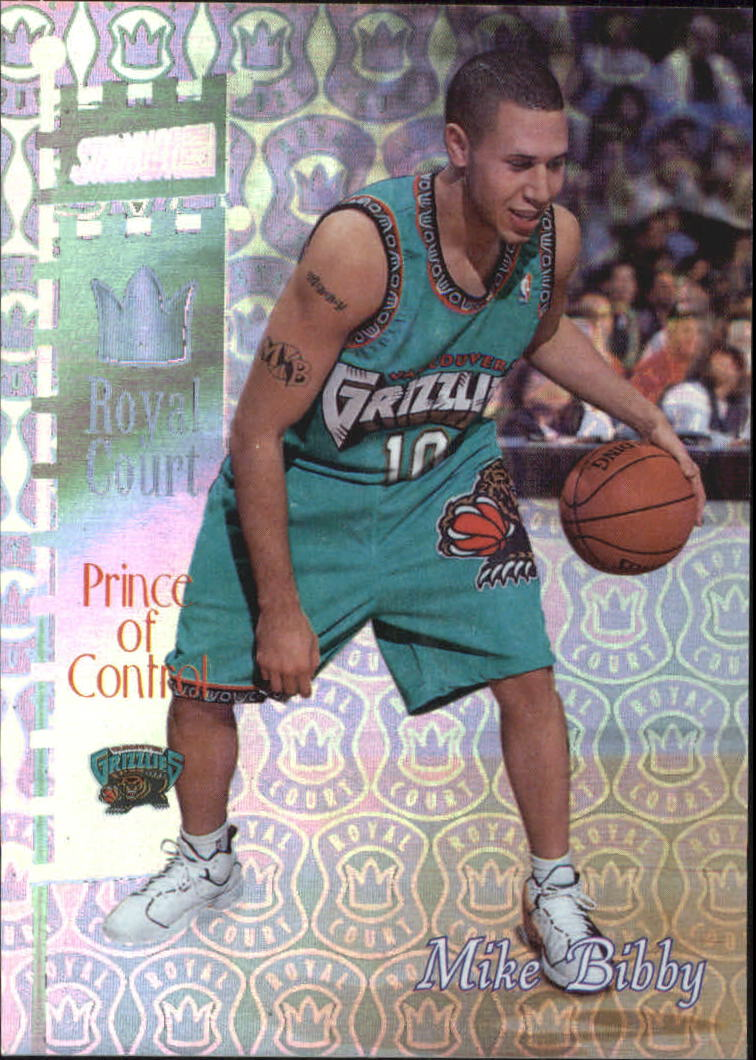 1998-99 Stadium Club Royal Court #RC12 Mike Bibby front image