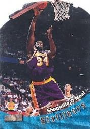 1998-99 Stadium Club Statliners #S16 Shaquille O'Neal