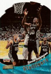 1998-99 Stadium Club Statliners #S20 David Robinson