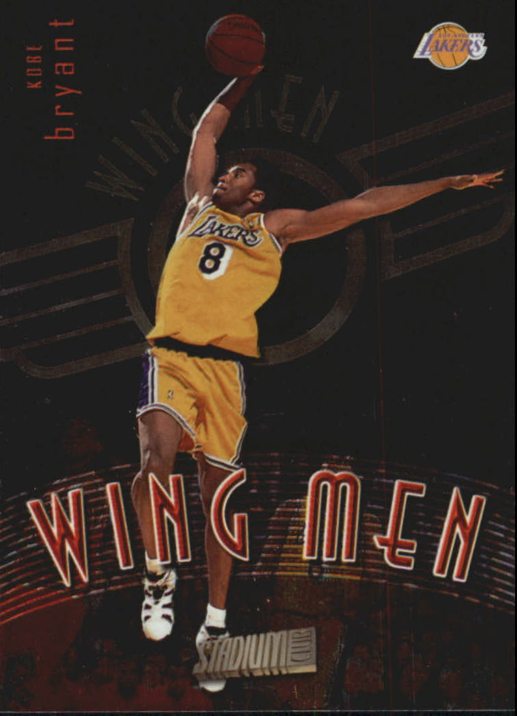 1998-99 Stadium Club Wing Men #W1 Kobe Bryant