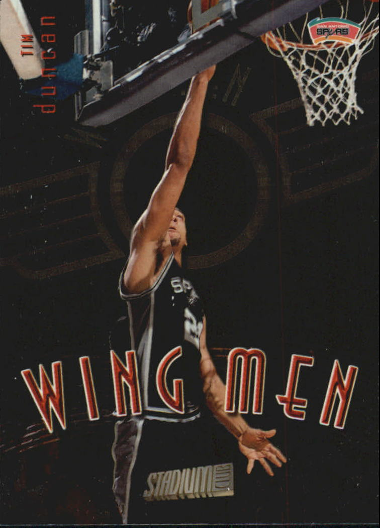 1998-99 Stadium Club Wing Men #W2 Tim Duncan