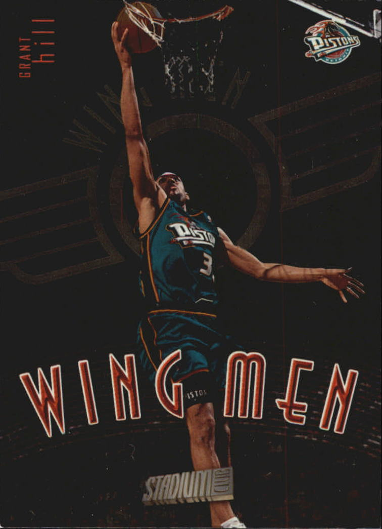 1998-99 Stadium Club Wing Men #W6 Grant Hill
