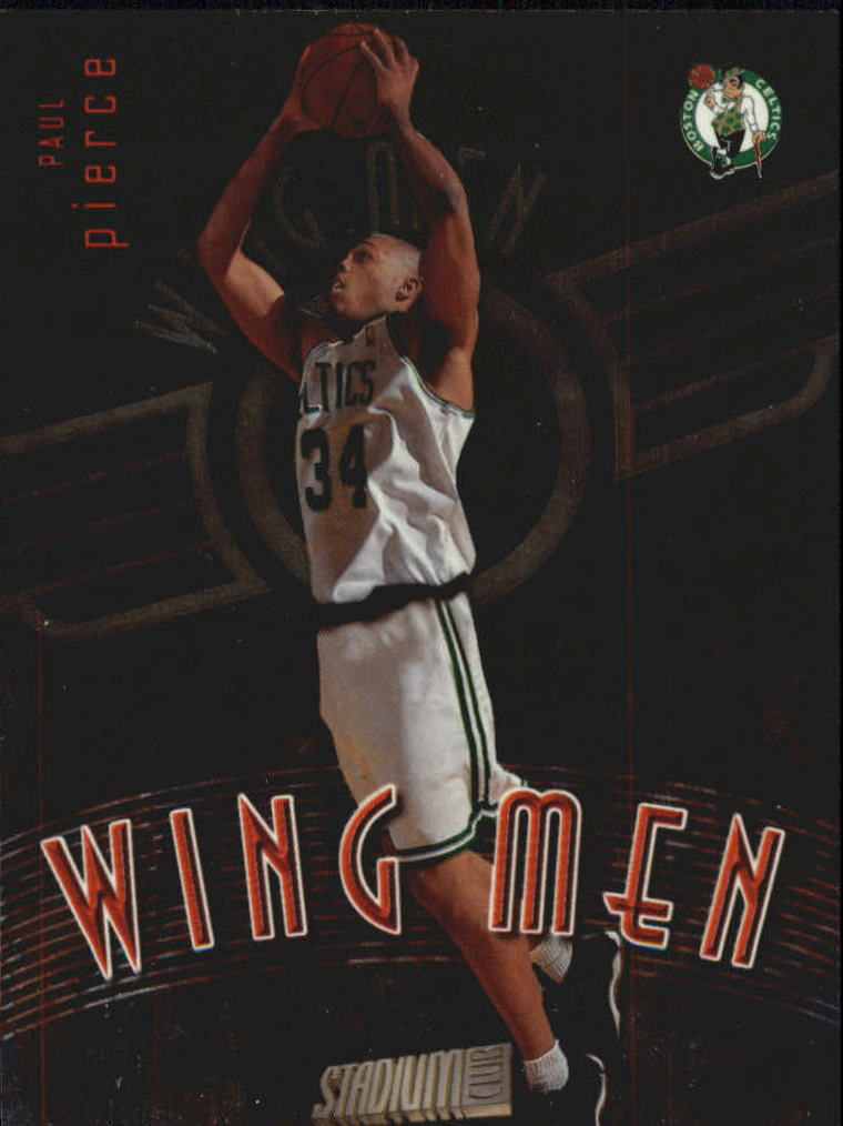 1998-99 Stadium Club Wing Men #W20 Paul Pierce front image