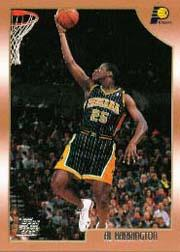 1998-99 Topps #133 Al Harrington RC