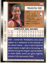 1998-99 Topps #160 Allen Iverson back image