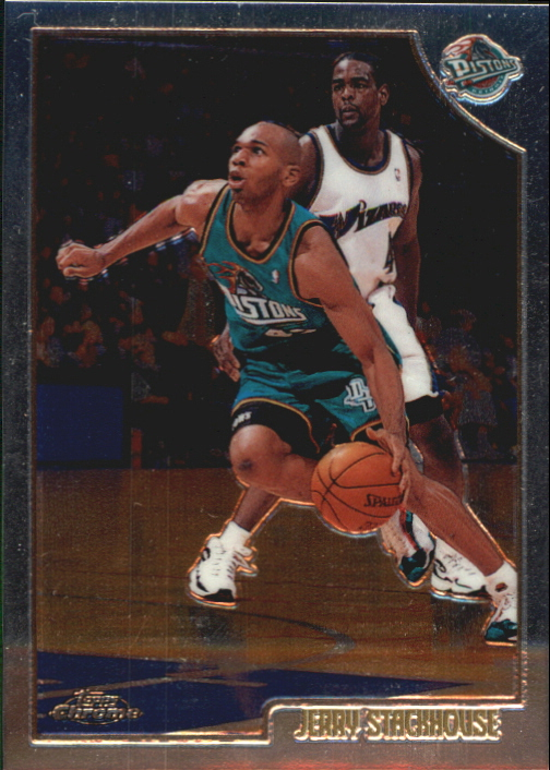 1998-99 Topps Chrome Preview #10 Jerry Stackhouse