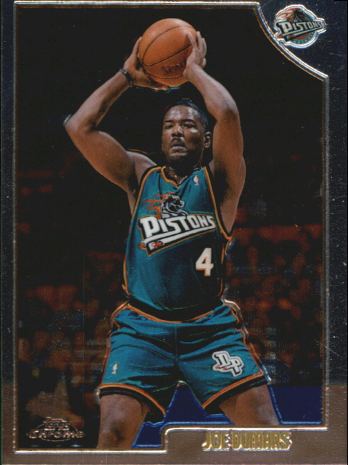 1998-99 Topps Chrome Preview #43 Joe Dumars