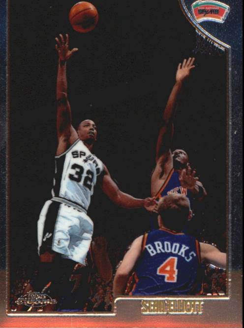 1998-99 Topps Chrome Preview #100 Sean Elliott