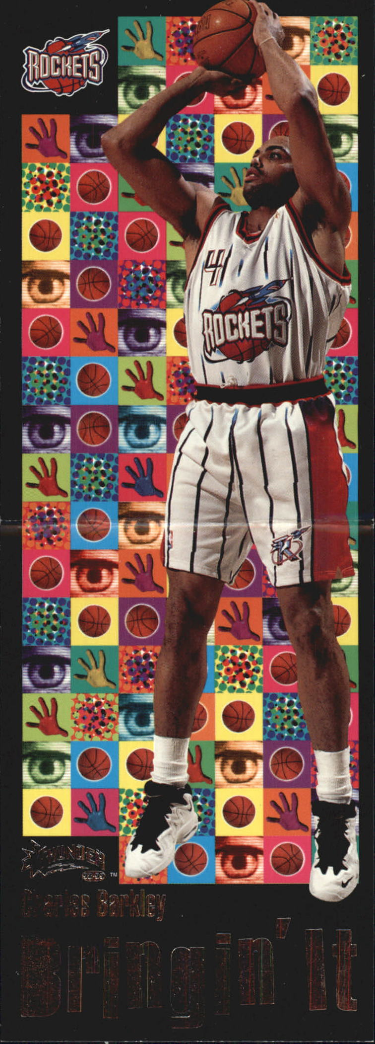 1998-99 SkyBox Thunder Bringin' It #1 Charles Barkley