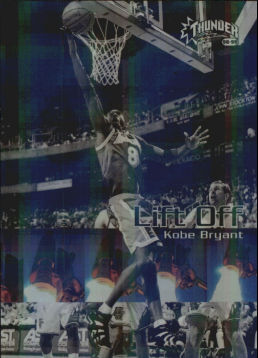 1998-99 SkyBox Thunder Lift Off #3 Kobe Bryant