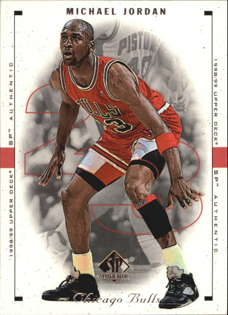 1998-99 SP Authentic #2 Michael Jordan