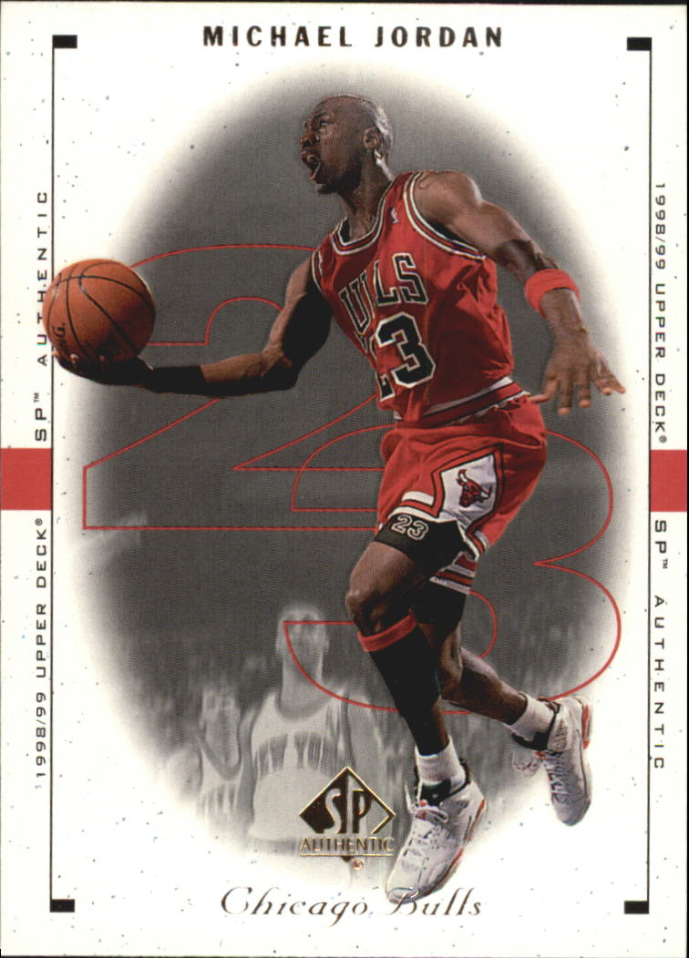 1998-99 SP Authentic #4 Michael Jordan