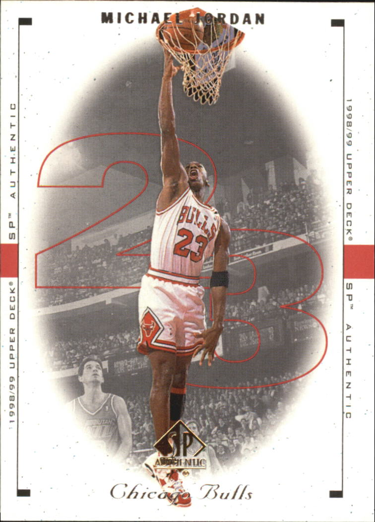 1998-99 SP Authentic #5 Michael Jordan