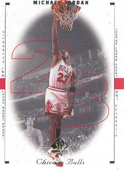 1998-99 SP Authentic #6 Michael Jordan